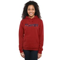 Liberty Flames Women's Classic Wordmark Pullover Hoodie - Red