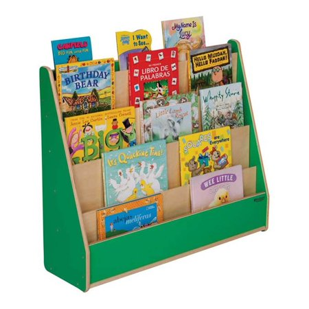Kid's Play Wooden Book Display Stand Blueberry Walmart Unique Wooden Book Display Stand