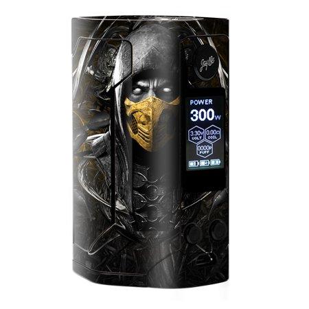 Scorpion Mask (Skins Decals For Wismec Reuleaux Rx Gen 3 Vape / Scorpion Ninja)