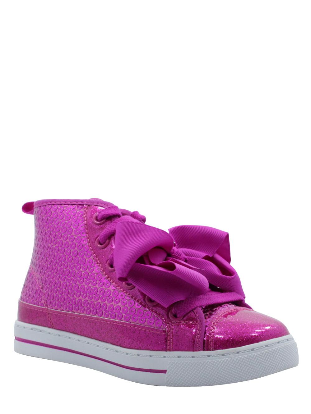 Jojo Siwa Pink Sequin High-Top Sneaker (Little Girls & Big Girls)