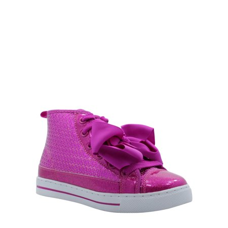 Jojo Siwa Pink Sequin High-Top Sneaker (Little Girls & Big Girls)
