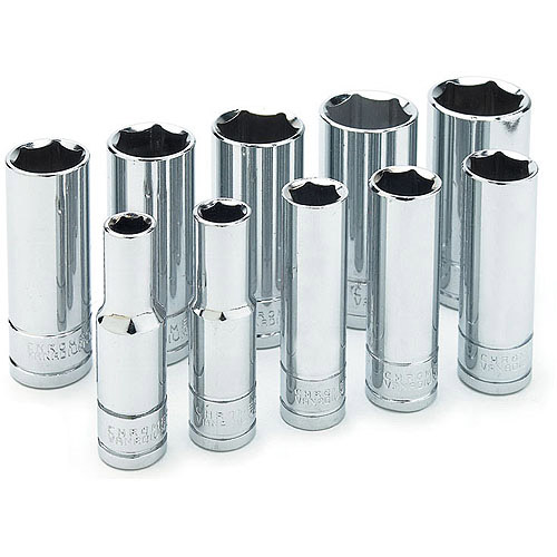 "Wilmar Corporation W38402 3/8"" Drive Deep Socket Set"