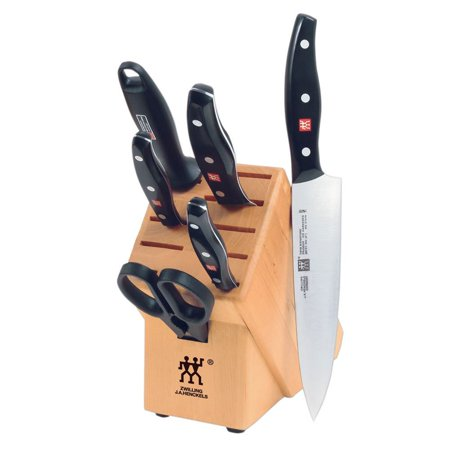 ZWILLING J.A. Henckels TWIN Signature 7-pc Knife Block (Henckels Twin Collection)