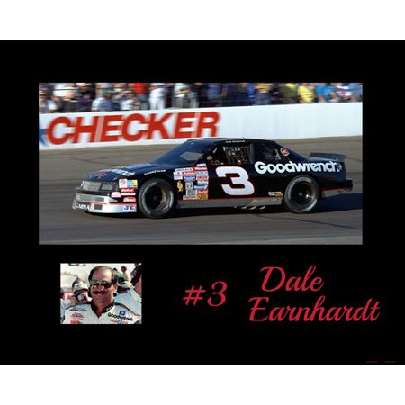 Frames By Mail Nascar Dale Earnhardt Memorabilia On Wrapped Canvas