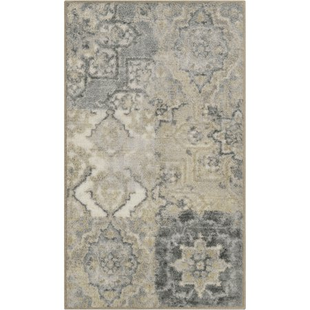 Better Homes And Gardens Distressed Patchwork Area Rug Or