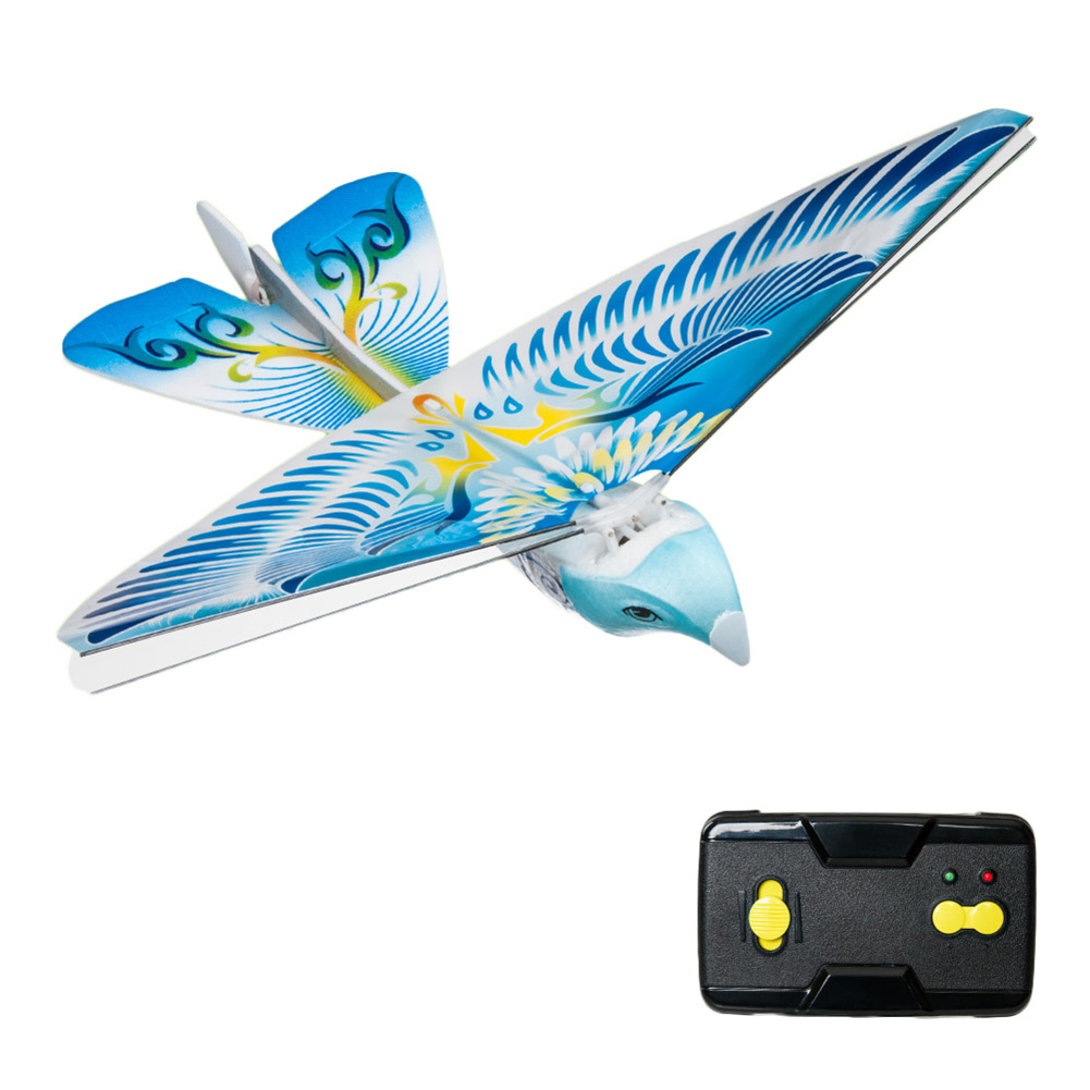 2.4Ghz RC Remote Control Flying Bird Toy (Blue)