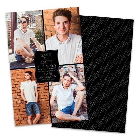 Personalized 4 Photo Save The Dates (Save The Date Photo)