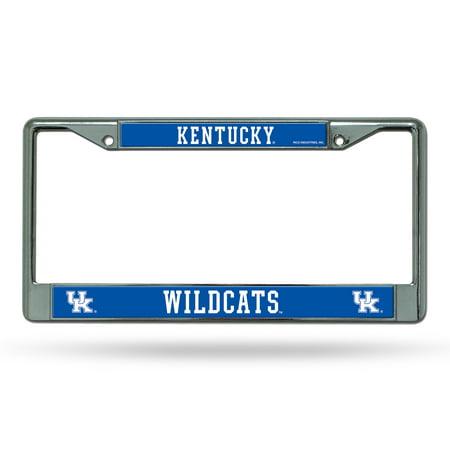 Kentucky Wildcats NCAA Chrome Metal License Plate Frame