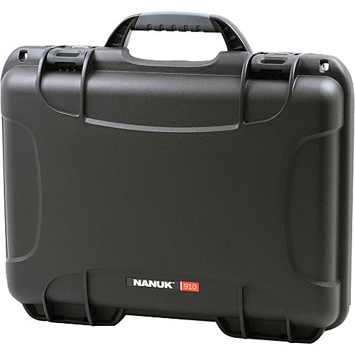 NANUK 910 Case With 3 Part Foam Insert