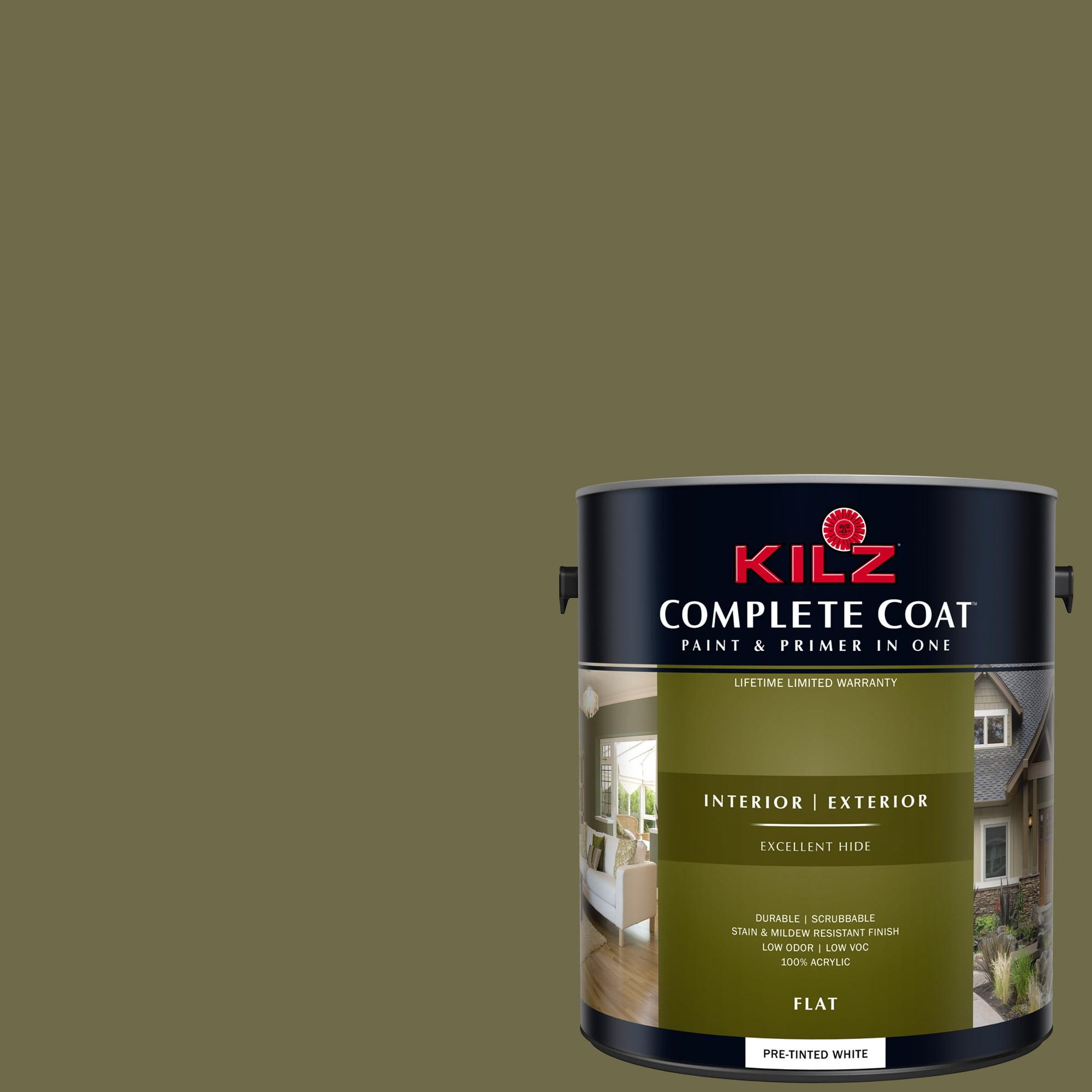 KILZ COMPLETE COAT Interior/Exterior Paint & Primer in One #LF110-02 Anchorage Jacket