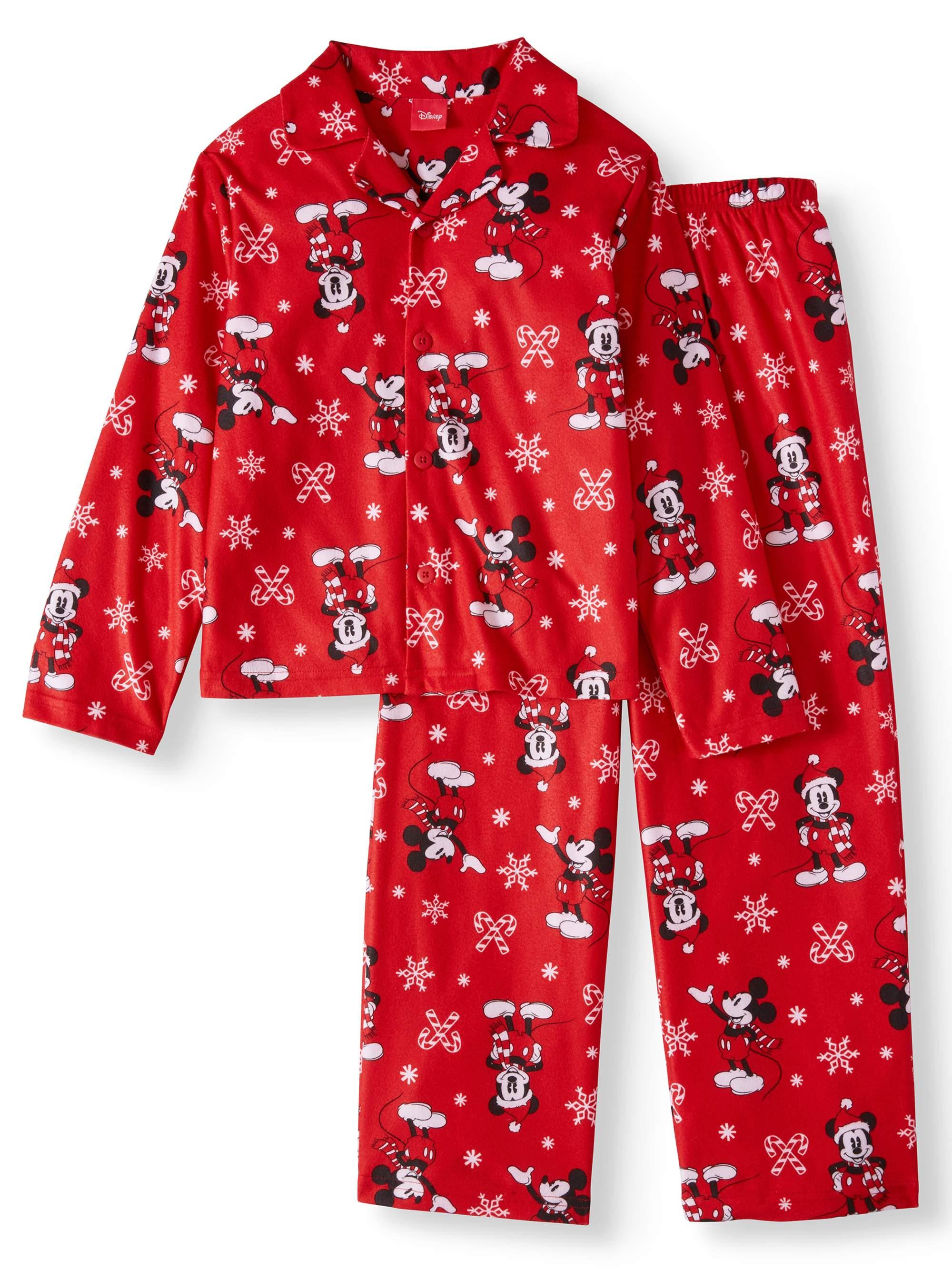 Boys 2 Piece Coat Pajama Set