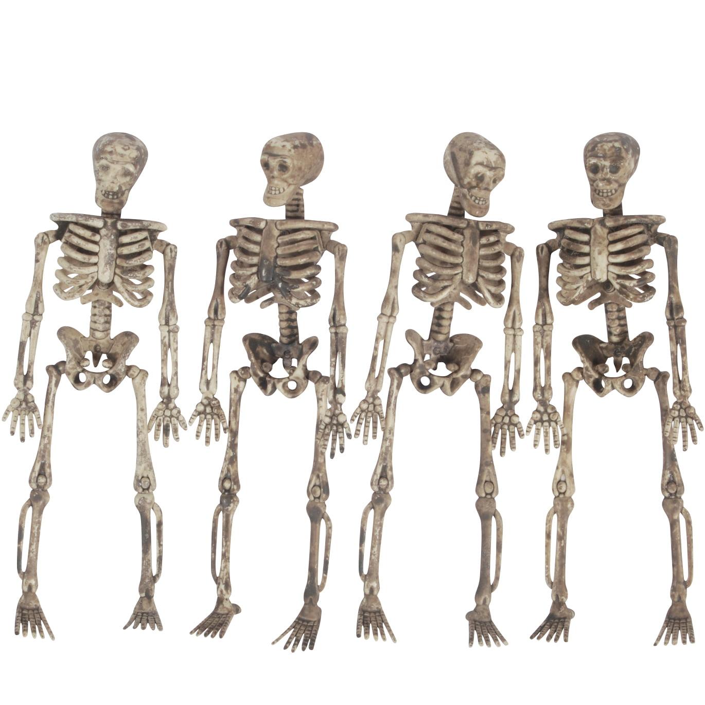 loftus halloween decaying skeleton hanging 5 ft garland tan walmartcom