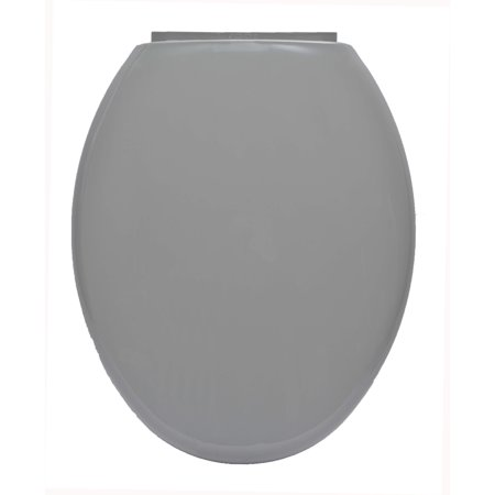 Evideco  Slow-Close Easy Release Oval Toilet -