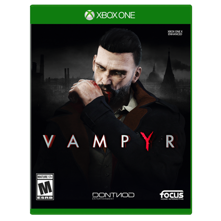 Focus Home Interactive Vampyr, Maximum, Xbox One, 854952003769