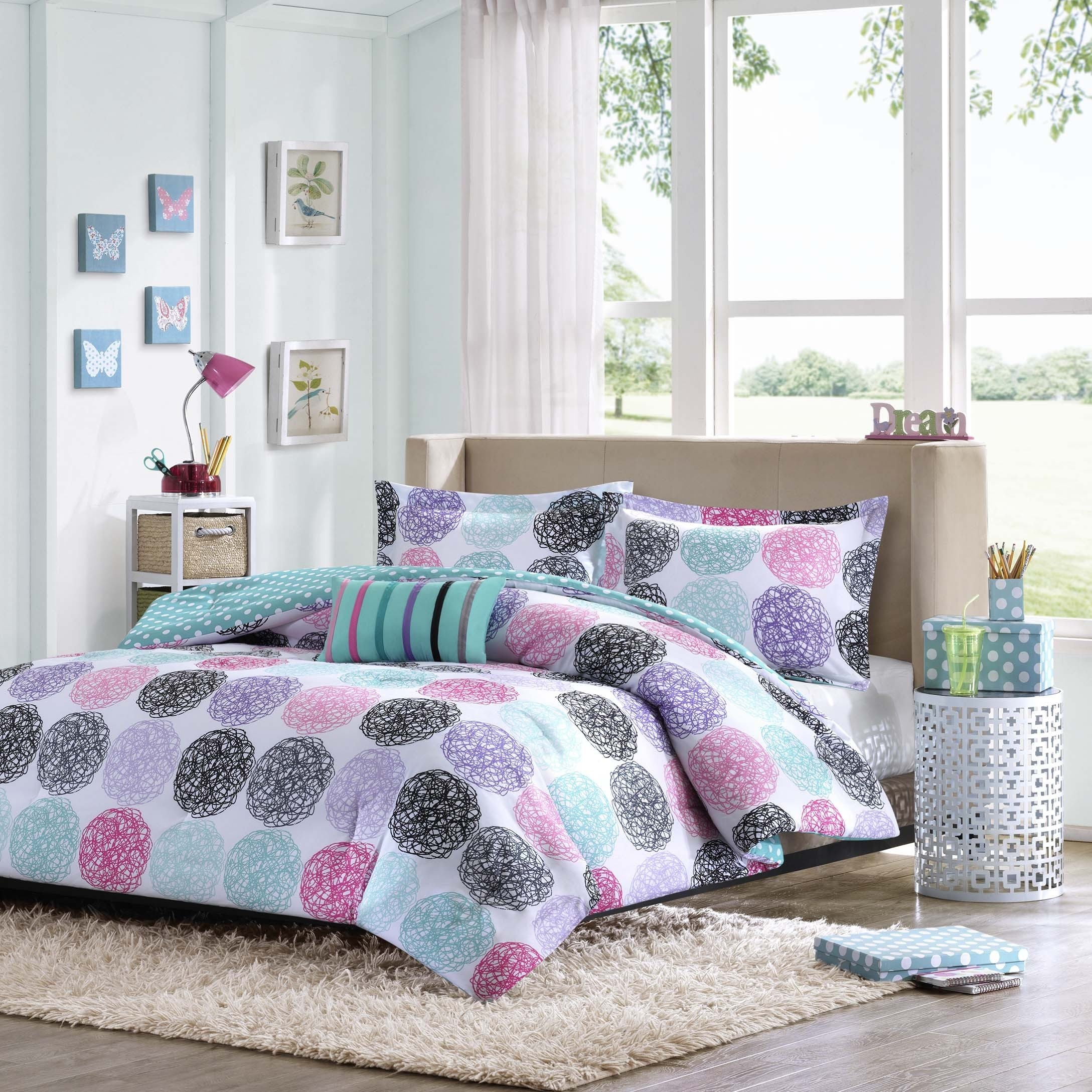 Blue polka dot bedding - Blue Polka Dot Bedding 15