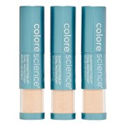 Colorescience Sunforgettable Brush On Sunscreen Foundation Spf 50, Medium, 3 Piece Multipack, 0.21 Oz