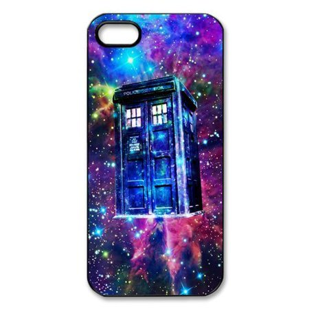 Ganma Doctor Who Tardis Police call box Rubber Case For iPhone 8 PLUS (5.5 inch) - Who Sells Cake Boxes
