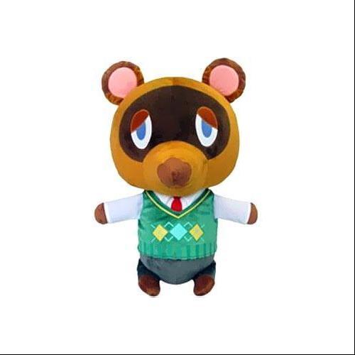 Animal Crossing Tom Nook 16 Plush Walmart Com