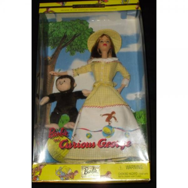 Barbie and Curious George Collector edition by