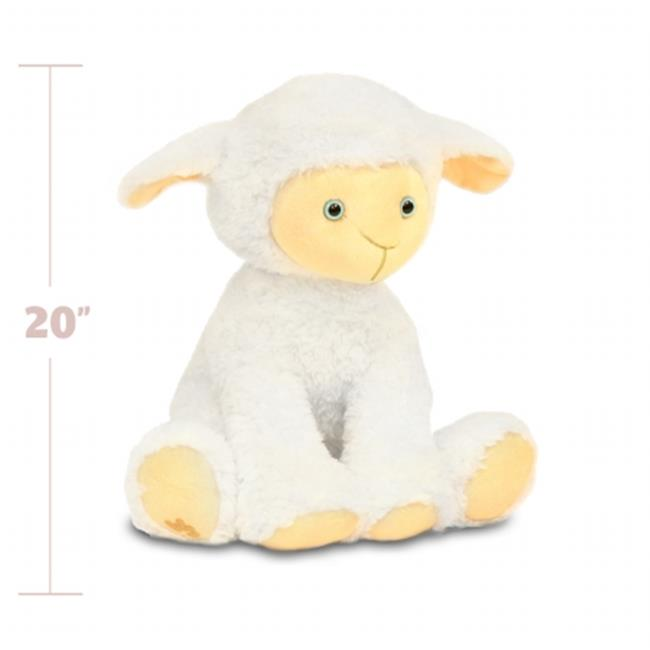 Beverly Hills Teddy Bear Company 8182 Worlds Softest Plush 20 in. Lamb  Worlds Softest Plush