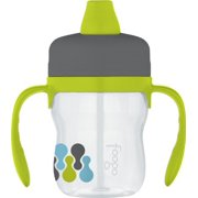 THERMOS FOOGO 8-Ounce Soft Spout Sippy Cup with Handles, Tripoli Pattern