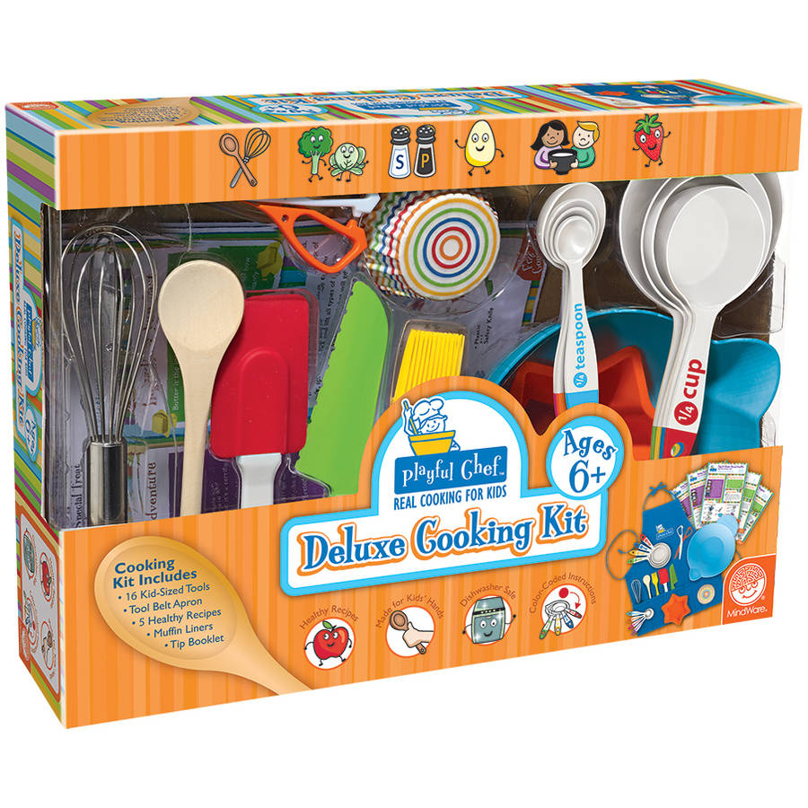 Playful Chef Deluxe Cooking Kit, Ages 6+