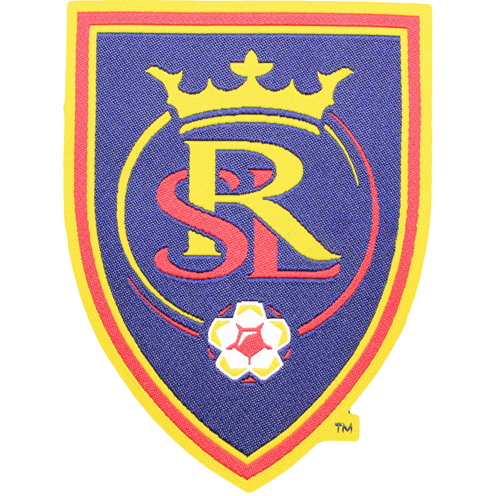 Real Salt Lake Primary Team Crest Pro-Weave Jersey Patch