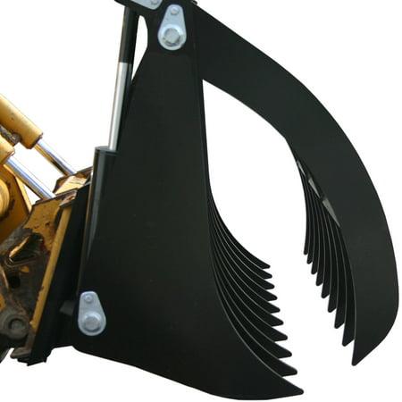 Titan 84  Root Grapple Rock Rake Custom Diy Blank Back Plate Attachment