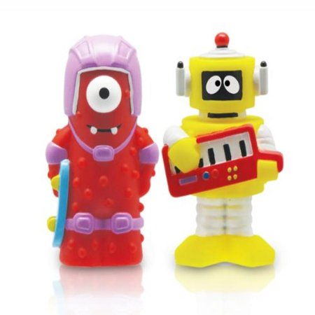 YO GABBA GABBA - 2- Collectible Figures: Muno and Plex (2-Pack)
