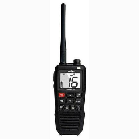 Uniden Handheld Radio (Uniden 1/2.5/6W Handheld Two-Way Floating VHF Marine Radio FCCID-AMWUT661)