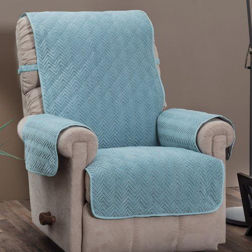 Innovative Textile Solutions Chevron Recliner Furniture Cover Slipcover