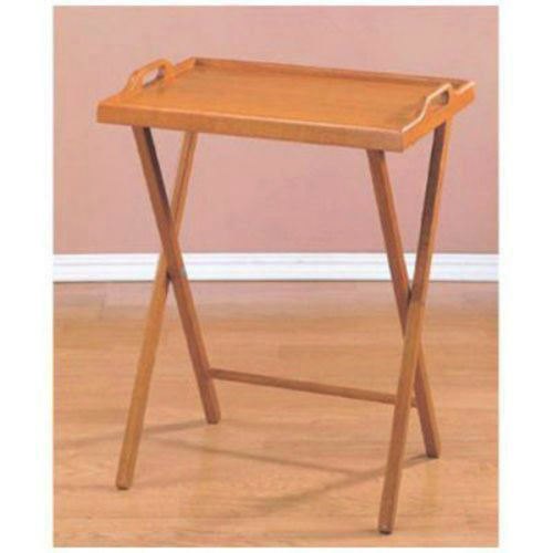 Exceptionnel Zimtown Wooden Folding Dinner Table TV Tray Coffee Stand Serving Snack Tea  Portable