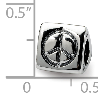 925 Sterling Silver Charm For Bracelet Peace Smiley Face Heart Trilogy Bead Fine Jewelry Gifts For Women For Her - image 2 de 9