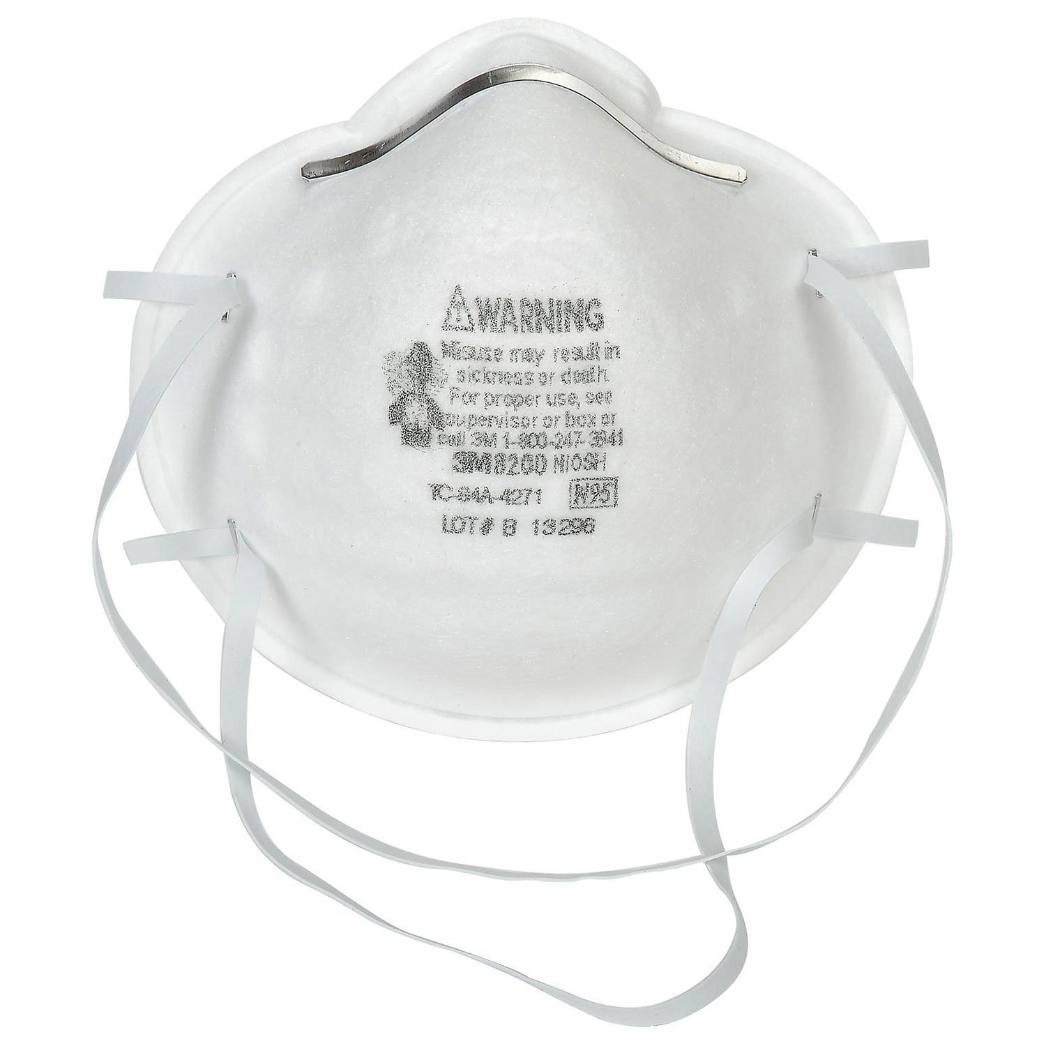 N95 Particulate Respirator, 8200 07023(AAD), 20 Bx, By 3M by
