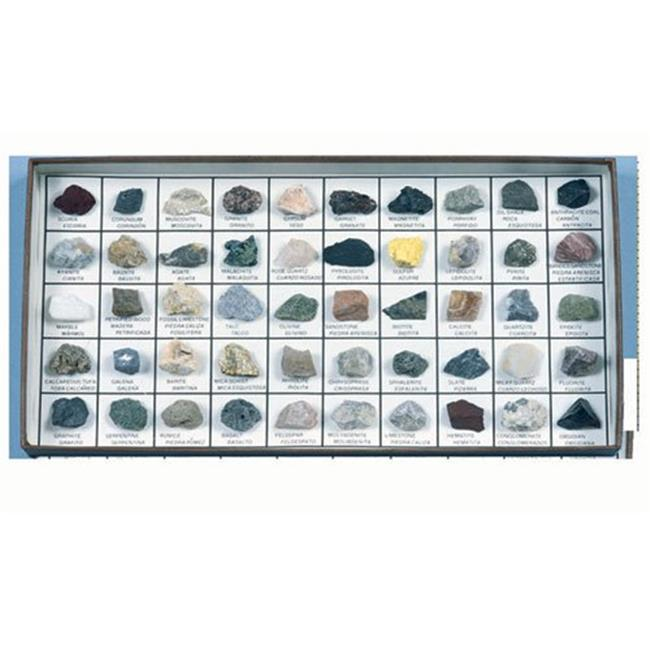 Hubbard Scientific 2050 Rocks and Minerals of Western U. S.  Collection