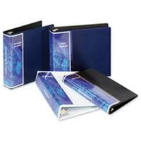Cardinal Brands- Inc CRD16902 Vinyl SpineVue Ring Binder- 3in. Capacity- 11in.x8-.50in.- Blue