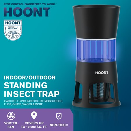 Hoont Mosquito And Gnat Fly Trap Standing Outdoor Indoor Control