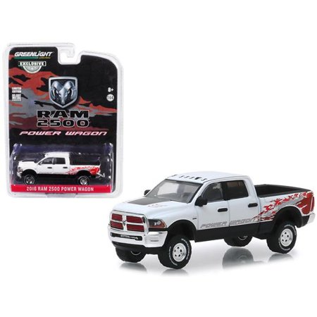 2016 Dodge Ram 2500 Power Wagon Pickup Truck Bright White Clearcoat