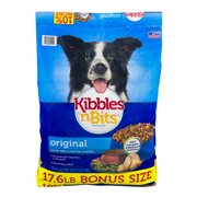 Kibbles `N Bits Original Savory Beef and Chicken Dry Dog Food, 17.6 Lb