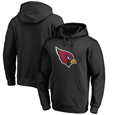Arizona Cardinals NFL Pro Line Primary Logo Hoodie - Black - University Of Arizona Logo