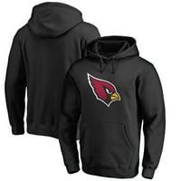 Arizona Cardinals NFL Pro Line Primary Logo Hoodie - Black