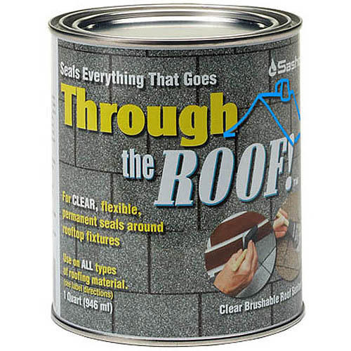 Sashco Sealants 14023 QT 1-Quart Through The Roof Sealant