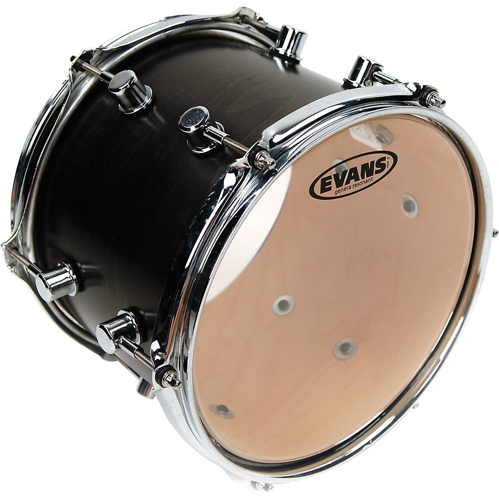 "Evans Clear Genera Resonant Drum Head (14"") by Evans"