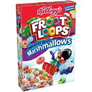 Kellogg's Froot Loops with Fruity Shaped Marshmallows, 12.6 OZ