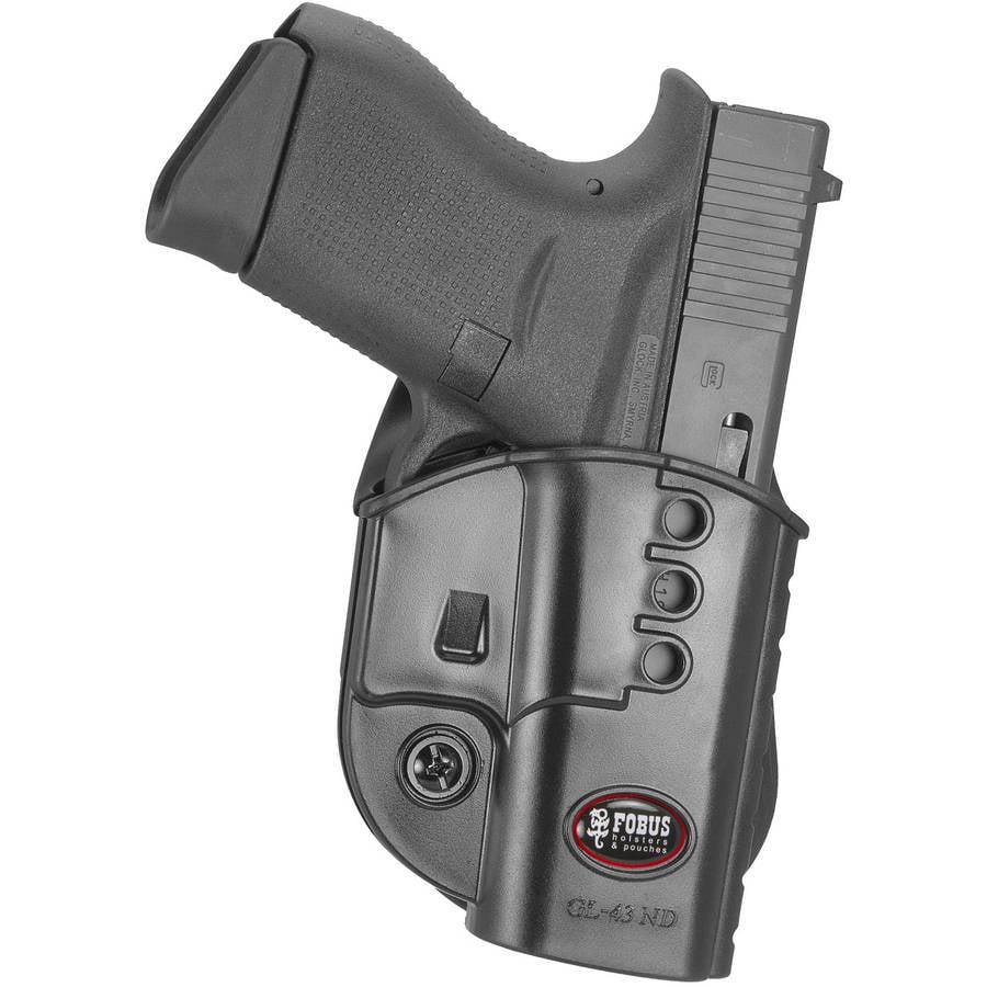 Fobus Evolution Paddle Holster Glock 43 Left by Fobus