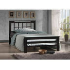 Aperta Wenge Wood Contemporary Full Bed