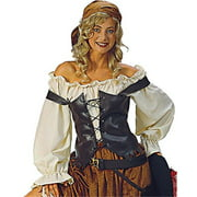 Alexanders Costumes 27-296 Caribbean Pirate Blouse, Natural Large by Alexanders Costumes