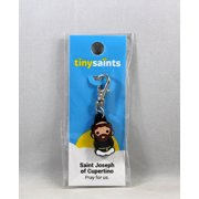 Tiny Saints Saint Joseph of Cupertino CHARM NEW - Bracelets, Backpacks, Gifts