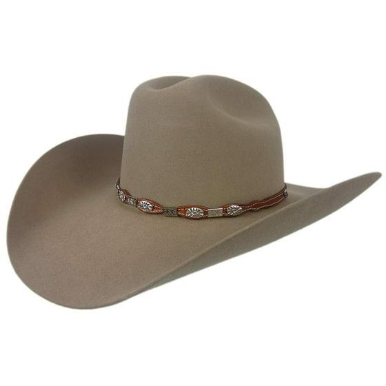 36ef804852ef4 Stetson 6X High Roller T Cowboy Hat Fawn Size 7 1 4 Oval 4 1 4 Brim -  Walmart.com