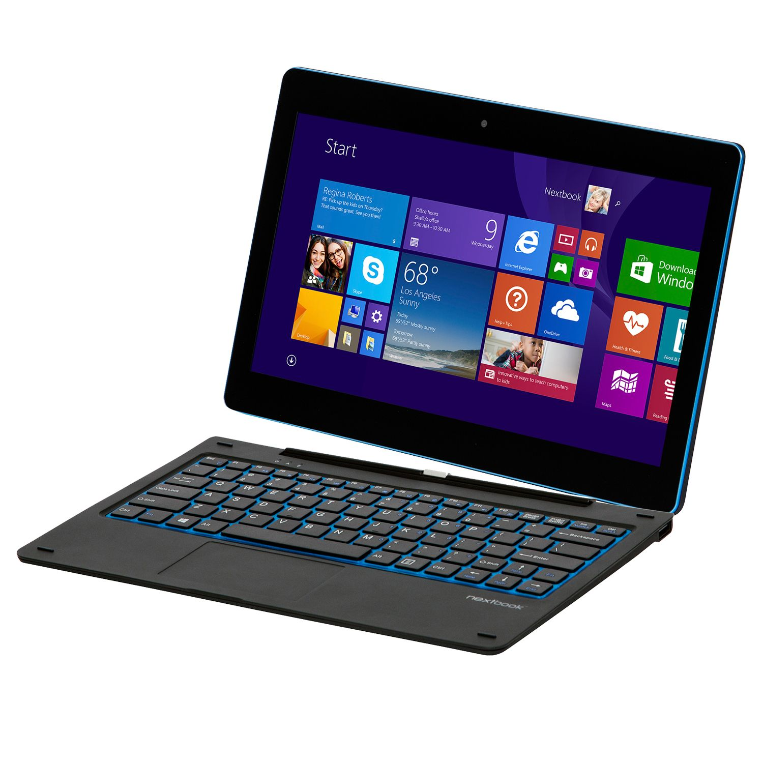 "Refurbished Nextbook NXW116QC264 Flexx 11.6"" 2-in-1 Tablet 64GB Drive Windows 8"